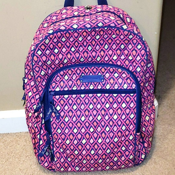 Vera Bradley Quilted full size backpack
